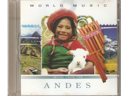 CD PANOVA FLÉTNA - MUSIC FROM THE ANDES