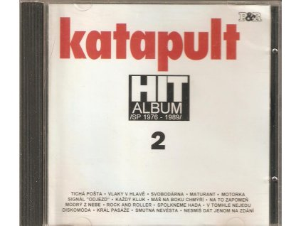 CD Katapult - HIT ALBUM 2 / SP 1976 - 1989