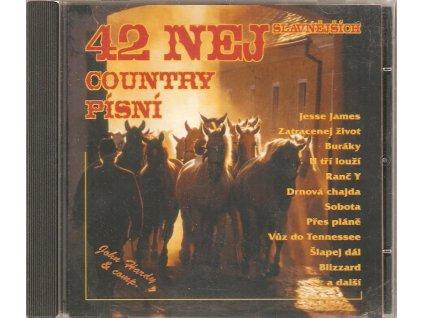 CD 42 NEJSLAVNĚJŠÍCH COUNTRY PÍSNÍ