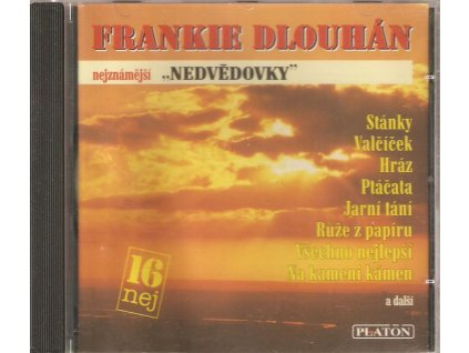 CD FRANKIE DLOUHÁN - nejznámější NEDVĚDOVKY