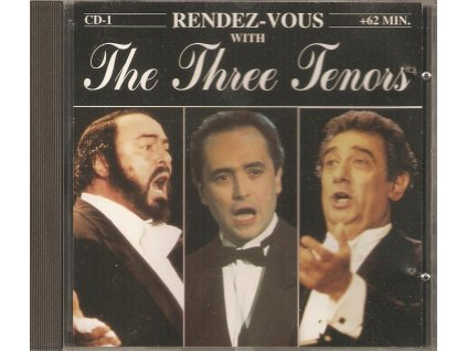 3CD RANDEZ VOUS WITH - The Three Tenors