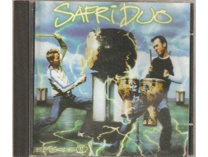 CD SAFRI DUO - Taneční rytmy, percusse, rytmické a melodické bicí nástroje