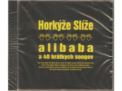 CD Horkýže Slíže - Alibaba a 40 krátkých songov - nové, zabalené