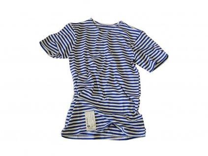 20458 1 tricko triko ruske namornicke kratky rukav svetle modre original vdv