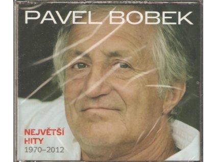 3CD BOX PAVEL BOBEK - NEJVĚTŠÍ HITY 1970 - 2012