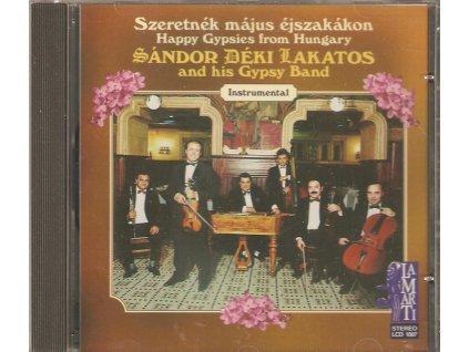 CD SÁNDOR DÉKI LAKATOS and his Gypsy Band - Instrumental