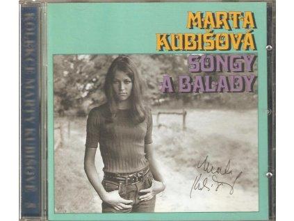 CD Marta Kubišová - SONGY A BALADY
