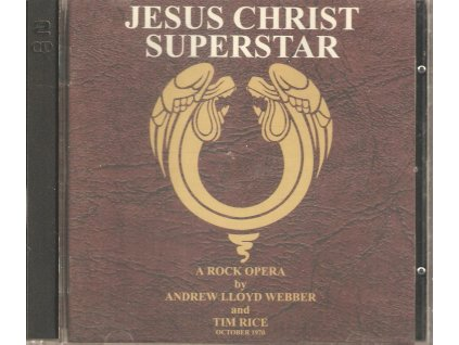 2CD JESUS CHRIST SUPERSTAR - A Rock Opera by Andrew Lloyd Webber and Tim Rice 1978