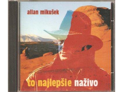 CD Allan Mikušek - To nejlepšie naživo