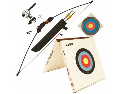 00 SL00001 archery set packed in box with target 2 arrows