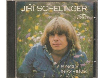 CD JIŘÍ SCHELINGER - SINGLY 1972 - 1978