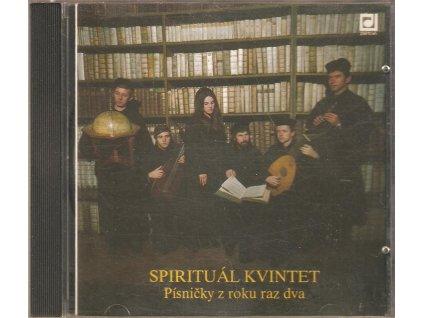 CD SPIRITUÁL KVINTET - Písničky z roku raz dva
