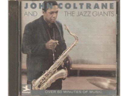 CD JOHN COLTRANE AND THE JAZZ GIANTS