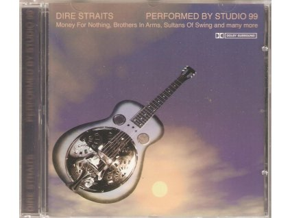 CD Dire Straits - Performed By Studio 99