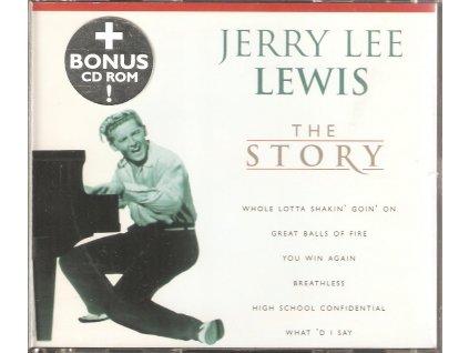 CD Jerry Lee Lewis - The Story + Bonus CD ROM