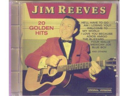 CD JIM REEVES - 20 GOLDEN HITS