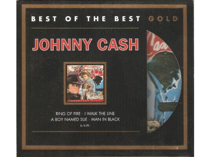 CD Johnny Cash - BEST OF THE BEST GOLD