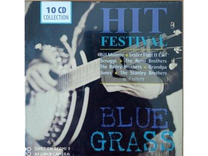 blue grass hit festival 10 cd box wallet 101444250