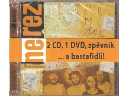 2CD+1DVD+zpěvník NEREZ -  ... a bastafidli!
