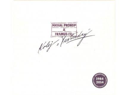 CD+DVD MICHAL PROKOP A FRAMUS (5) - Kolej ´Yesterday´