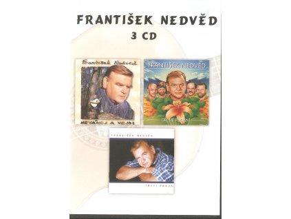 3CD František Nedvěd - Neváhej a vejdi + Druhé podání + Třetí pokus