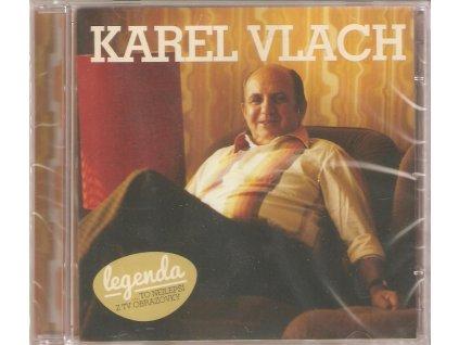 2CD Karel Vlach - LEGENDA - TO NEJLEPŠÍ Z TV OBRAZOVKY