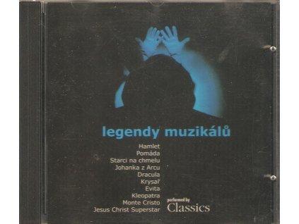 CD Legendy muzikálů