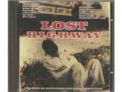 CD LOST HIGHWAY - THE BEST OF BLUEGRASS AND EARLY AMERICANA