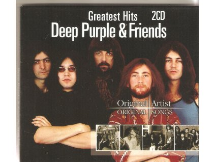 2CD DEEP PURPLE & FRIENDS - GREATEST HITS