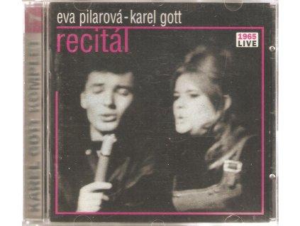 CD KAREL GOTT - EVA PILAROVÁ - RECITÁL 1965I LIVE