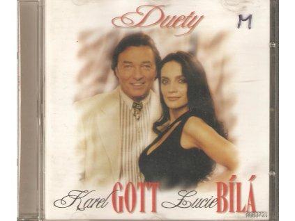 CD Karel Gott, Lucie Bílá - Duety