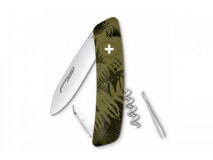 Swiza kapesní nůž D01 Standard Camo Silva olive   SW-KNI.0010.2050