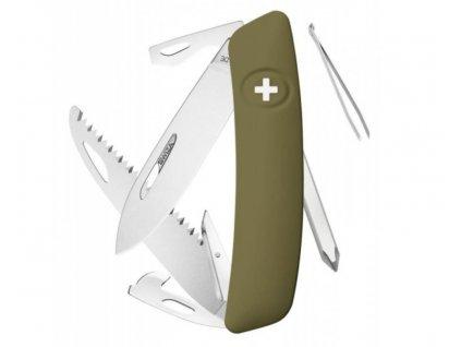 Swiza kapesní nůž D06 Standard olive SW-KNI.0060.1050