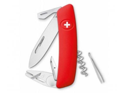 Swiza kapesní nůž TT03 Tick-Tool red SW-KNI.0070.1000