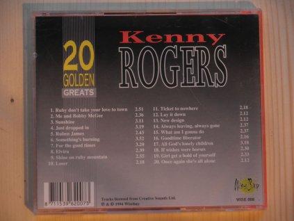 KENNY ROGERS-20 GOLDEN GREATS