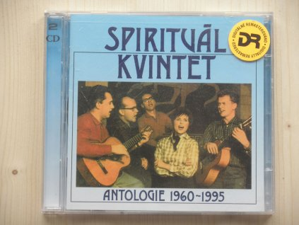 2CD box SPIRITUÁL KVINTET-ANTOLOGIE 1960-1995