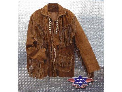 """Westernová kožená bunda """"CODI"""""""