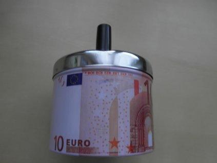 Popelník rotační- EURO měna