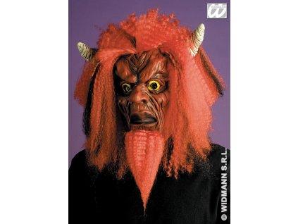 Maska čert - RED DEVIL W 6799 D