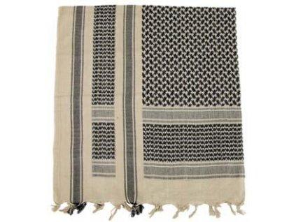 Šátek palestina písek/černá