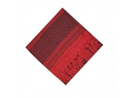 Šátek palestina červená/černá