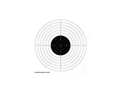 Terče pro vzduchové pistole 162P
