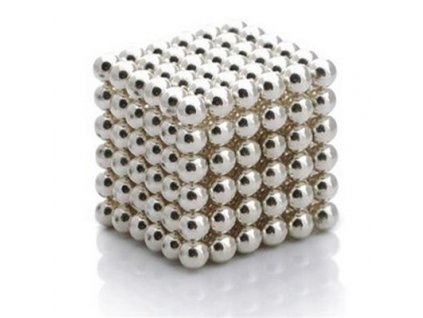 Neocube stříbrné 5mm
