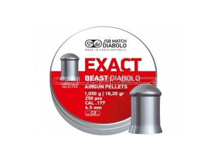 Diabolo JSB Exact Beast 250ks cal.4,52mm
