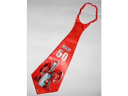 Kravata-Mám 50