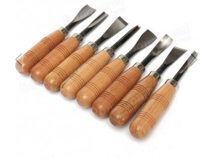 Řezbářské nože souprava 8ks