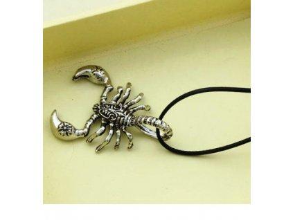 Štír - náhrdelník s přívěskem