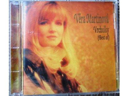 CD Martinová Věra - Vrcholky - best of (1995)