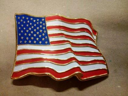 Opasková spona - Vlajka USA