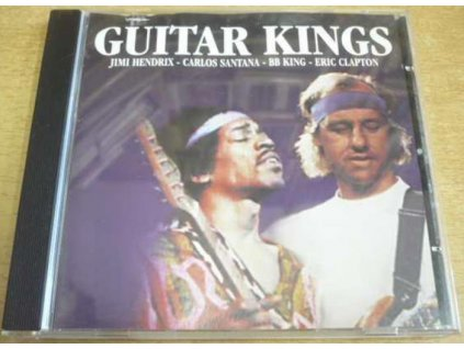 CD GUITAR KINGS Hendrix, Santana, Clapton, BB King